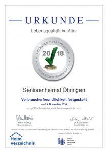 Zertifiziertes Seniorenheim und Ambulante Pflege in Öhringen