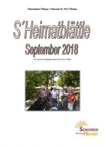 thumbnail of Heimatblättle Sept. 18