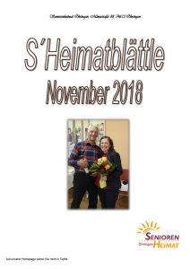 thumbnail of Heimatblättle Nov. 18