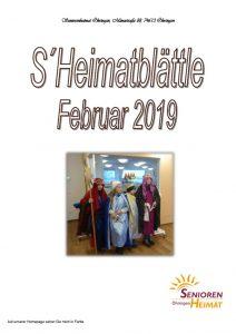 thumbnail of Heimatblättle Febr. 19