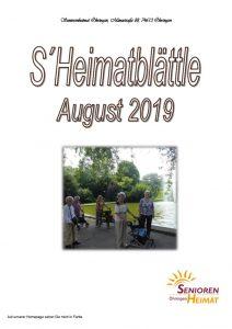 thumbnail of Heimatblättle Aug. 19