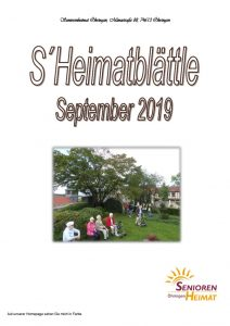 thumbnail of Heimatblättle Sept. 19