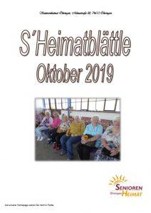 thumbnail of Heimatblättle Okt. 19