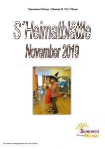 thumbnail of Heimatblättle Nov. 19