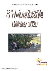 thumbnail of Heimatblättle Okt. 2020