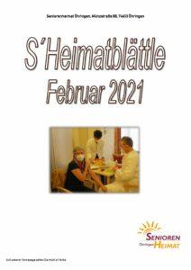 thumbnail of Heimatblättle Febr. 21
