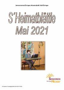 thumbnail of Heimatblättle Mai 21