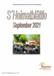 thumbnail of Heimatblättle Sept. 21